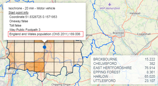 Isochrones Map (Travel Time Map) and Isodistances Map (5.0.6)